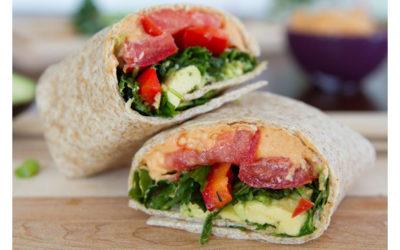 Wrap Rolls with Hummus