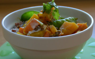 Thai Pumpkin & Sweet Potato Curry Rice