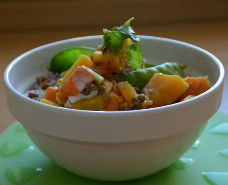 THAI PUMPKIN _ SWEET POTATO CURRY PHOTO 2 800