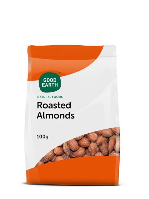 good earth almonds